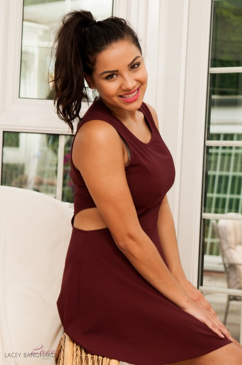 Lacey Banghard Red Dress - Picture 4